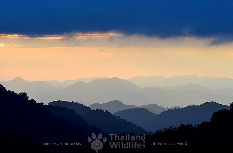kaeng krachan national park sunrise