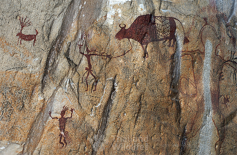 thailand cave painting